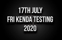 17th July Friday Kenda Testing 2020