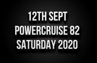 12th Sept Saturday Powercruise #82 2020