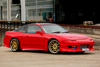 Red Nissan 180SX