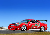 Robby Mounfield R34 Drift Car